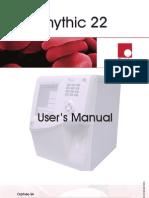 Orphee Mythic 22 Hematology Analyzer - User Manual