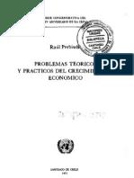 Problemas teóricos y prácticos del crecimiento económico_ Raúl Prebish
