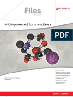 Chemfiles Vol. 9, No. 1 – MIDA-protected Boronate Esters