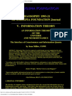 Chaosophy '93_ an Information Theory of the Universe