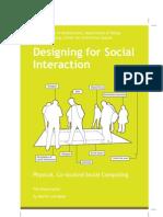 DesigningforSocialInteraction DissertationMVL Web
