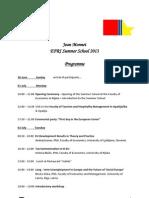 Program EFRI SS2013