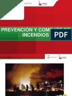 Curso Prevencion y Combate de Incendios 2012