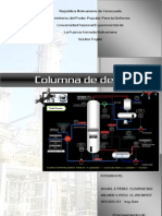 Columna de Destilacion