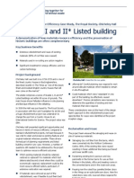 Refurbishment Resource Efficiency Case Study_Education and Science_Chicheley Hall