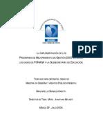 Tesis Mejora de La Gestion Publica-chile