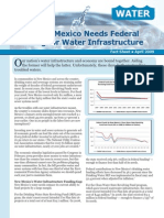 Why New Mexico Needs Federal Funding for Water Infrastructure