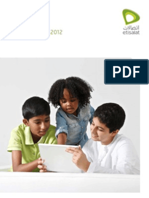 Etisalat 2012 annual report | Telecommunications | Technology