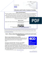 CcLearn Explanations - OER and CC Licenses 05 Apr 09