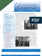 Kolreena Newsletter Spring 2009