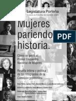 Mujeres Pariendo Historia
