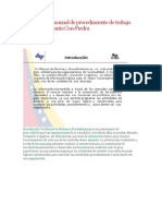 Diseño de un manual de procedimiento de trabajo seguro en la planta Con