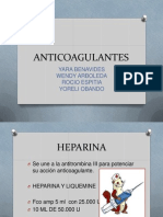 DIAPOSITIVAS ANTICOAGULANTES YORELI 2