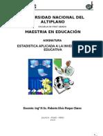 MATERIAL DE LECTURA MAESTRIA EN EDUCACIÓN - ESTADISTICA JULIACA