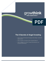 Growthink, Secrets Of Angel Investing