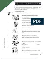 Spanish 3- Chapter 12 Workbook