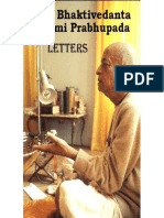 Letters -- Prabhupada Letters - A.C. Bhaktivedanta Swami Prabhupada