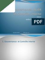 Gouvernance audit et contrôle de gestion