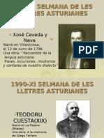 SELMANA DE LES LLETRES ASTURIANES - TRABAYU ESCOLAR