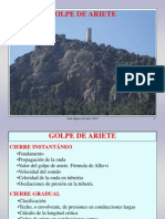 Fluidos 10-1. Golpe de Ariete (1)