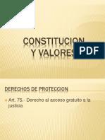 Constitucion y Valores