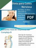 Dieta blanda para colitis nerviosa
