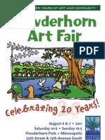 Powderhorn Art Fair 2011 - 20 years of Art and Community!