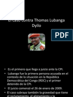 El Caso Contra Thomas Lubanga Dyilo