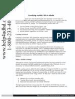 Adhd Coaching PDF
