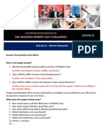 activity b - market research