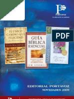 Catalogo Novedades Portavoz 2009