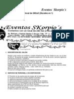 CONTRATO DE MATRIMONIO O QUINCEAÑERA 02