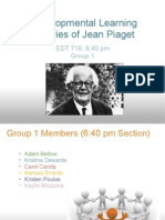 Group 1 Jean Piaget