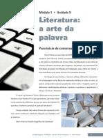 Linguagens Codigos Unidade 9 Literatura Seja