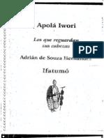 142426866 Adrian de Souza Hernandez Apola Iwori Meyi and Amulu