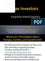Darrell Duane Smith investors in Energae Holdings or iLenders