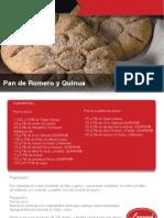 Pan de Romero y Quinua