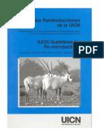 Guias Para Reintroducciones de La UICN