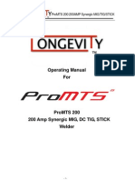 Pro Mts 200 Manual