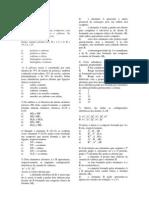 LISTA 4 - Química Crizel