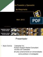 Costos de Posesión y Operación de Maquinaria_Caterpillar.pdf