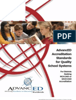 Advanced District Standards
