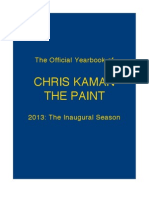 Commemorative 2013 Chris Kaman The Paint Yearbook