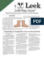 Leek Grab Bag Issue-Spring 2009