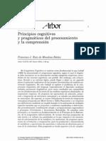 Linguistica cognitiva principios congnitivos y pragamaticos del procesamiento y comprension Ruiz de Mendoza Ibañez