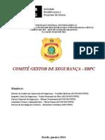 COMITÊ GESTOR DE SEGURANÇA - SBPC FINAL