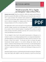 Prime Focus Press Release