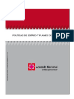 Politicas de Estado 2011 - 2021