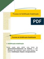 4a Processo de Solidificacao Estabilizacao Ceramicos