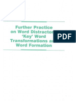 Word Distractor Key Word Word Formation Exercises
